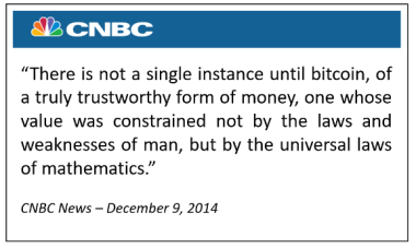 cnbc quote about bitcoin